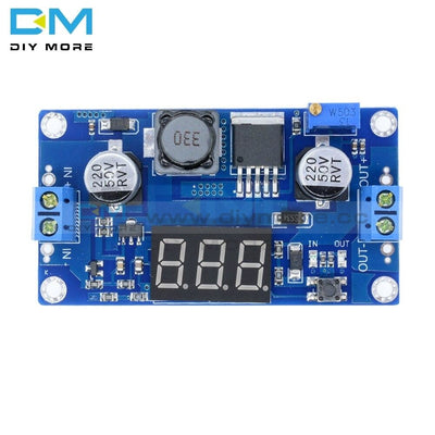 Dc-Dc 4.5-32V To 5-52V Xl6009 Boost Step-Up Module Power Supply Led Voltmeter Non-Isolation 4A Max