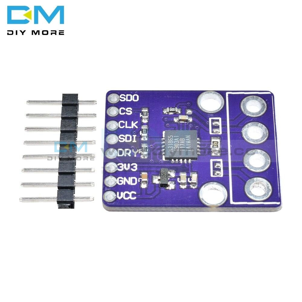 For Arduino 3.3V Max31865 Pt100 Pt1000 Rtd Temperature Thermocouple Sensor Amplifier Module Board