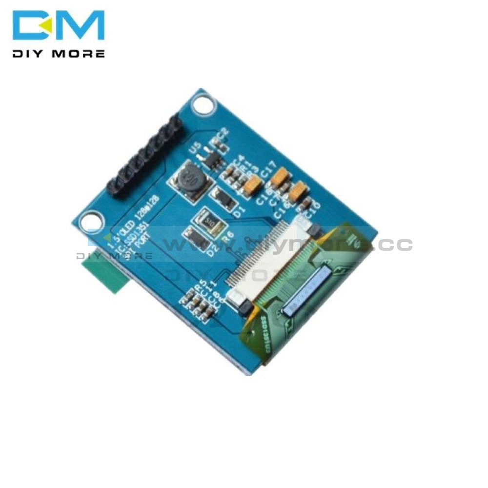 Ssd1351 Drive 1.5 Inch 7Pin Full Color Oled Module Display Screen Ic 128(Rgb)*128 Spi Interface For