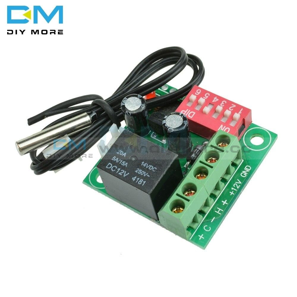 Dc 12V W1701 Thermostat Digital Temperature Control Controller Switch 10K Thermistor Heating Cooling