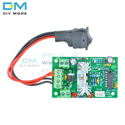 Dc 6-30V 6A Motor Speed Controller Reversible Pwm Control Forward/reverse Switch Board 6V-30V 12V