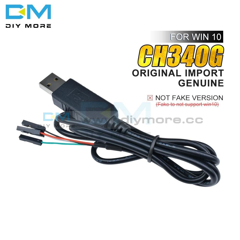 Original Ch340G Ch340 Download Line Cable Usb To Ttl Serial Wire Adapter Compatible Win7 8 10 For