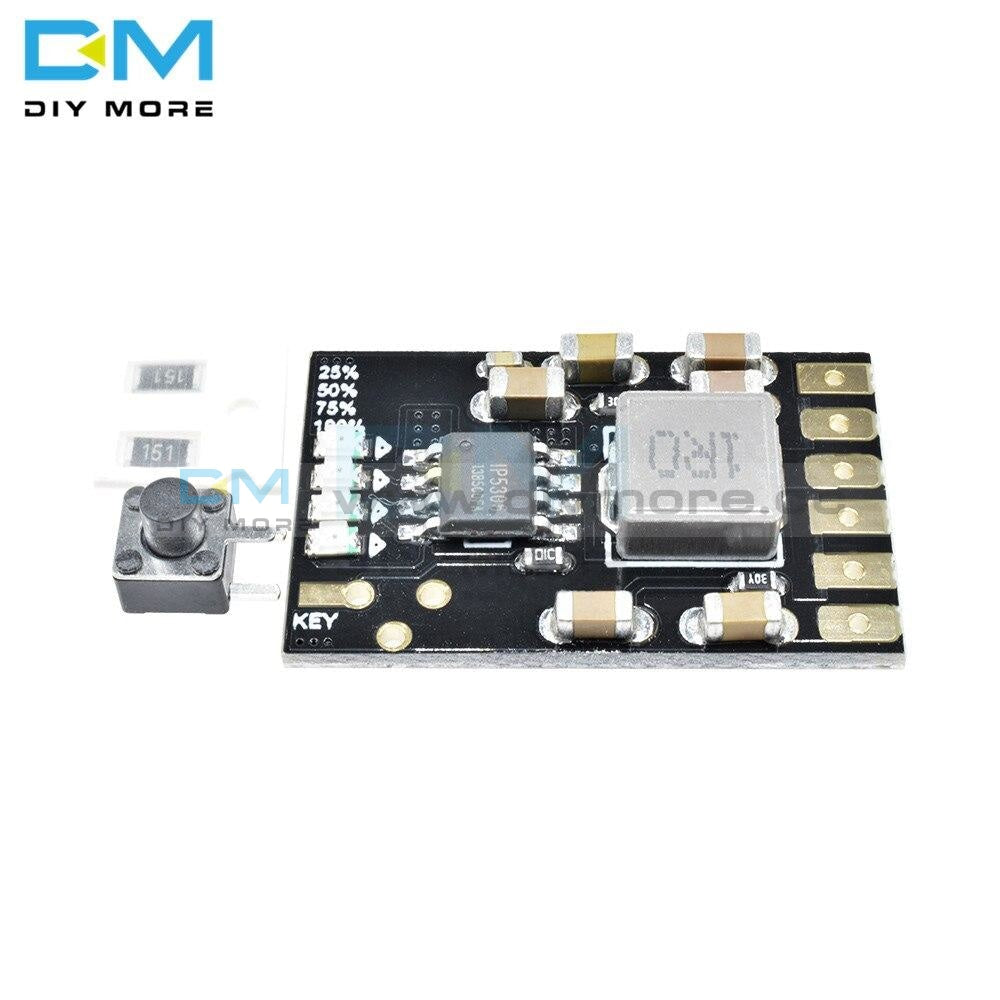 2A 5V Charge Discharge Integrated 3.7V 4.2V Lithium Battery Boost Mobile Power Protection Diy