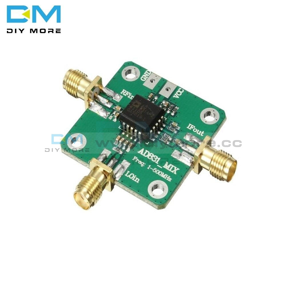 Ad831 0.1-500Mhz 10Dbm Gain High Frequency Rf Mixer Inverter Board Module Radio Converter With Dc