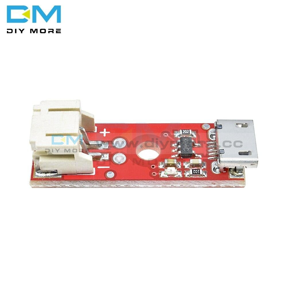 Diymore Lipo Charger Basic Micro-Usb 3.7V 500Ma Lithium Battery Module Micro Usb Interface Charging