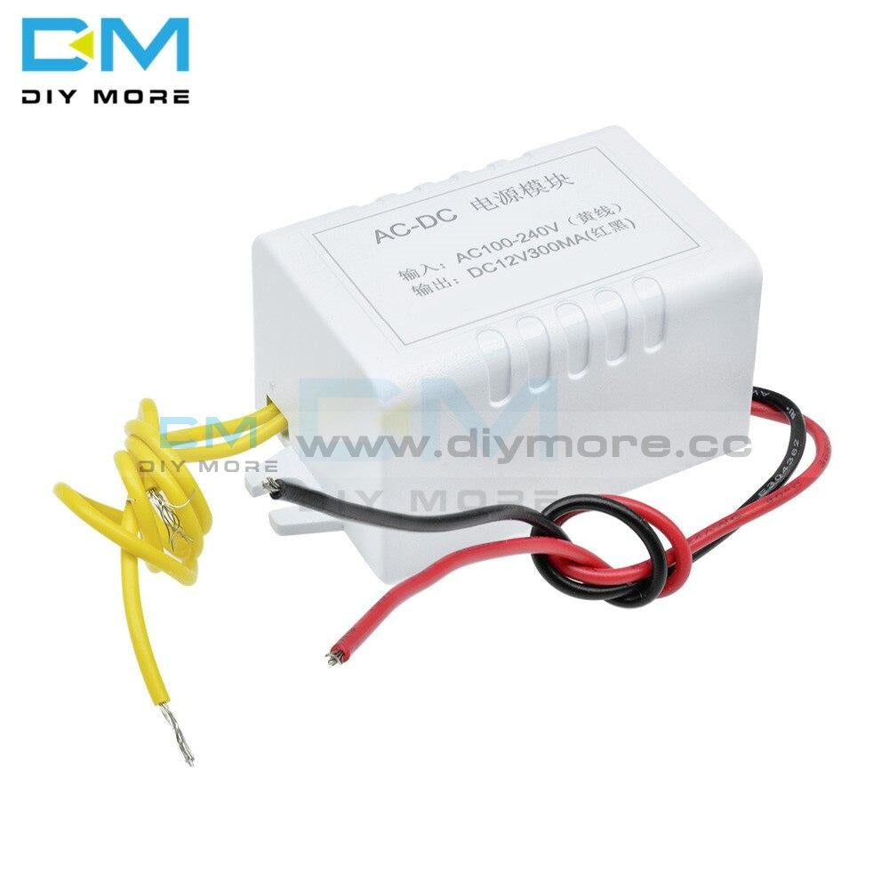 Ac 110V-220V To Dc 12V Voltage Power Supply Step Down Module Adapter Converter With Wire Cable