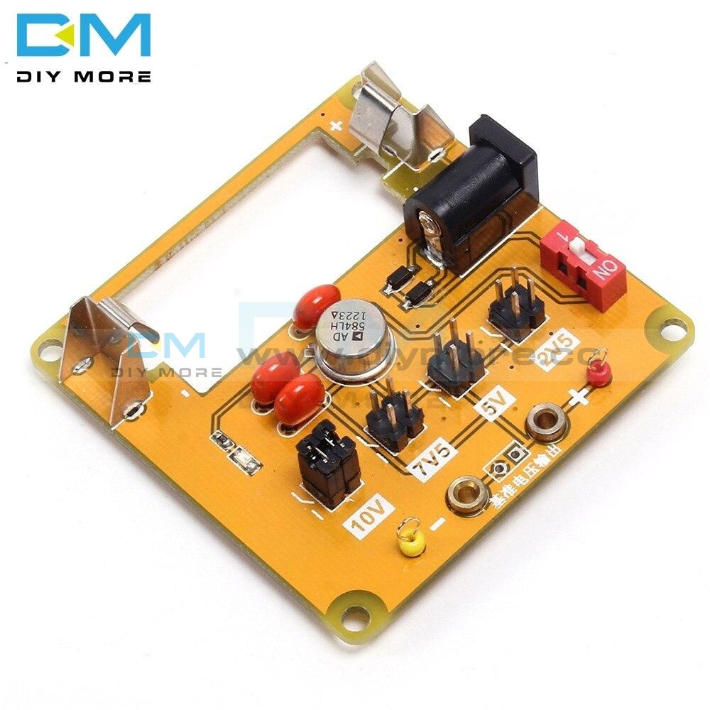 Ad584 High Precision Voltage Reference Module 4-Channel Programmable 2.5V/7.5V/5V/10V Board 4.5V-30V