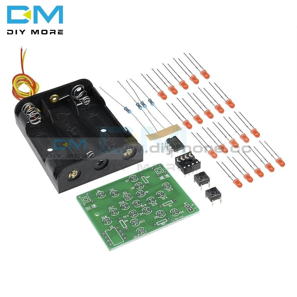 Dc 5V Windmill Training Funny Diy Electronic Kit Pcb Board For Practice Adjustable Speed Mcu Design