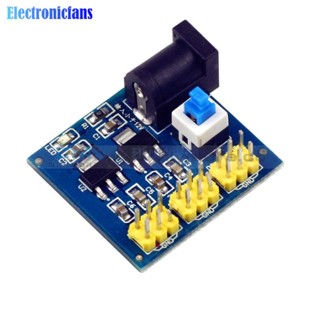 Dc-Dc 12V To 3.3V 5V Buck Step Down Power Supply Module For Arduino Down