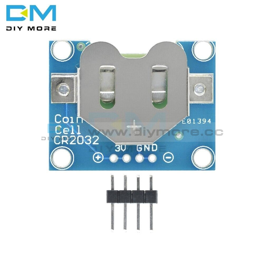 20Mm Coin Cell Breakout Board Cr1220 Button Battery Socket Holder Mount Small Slide Switch Module