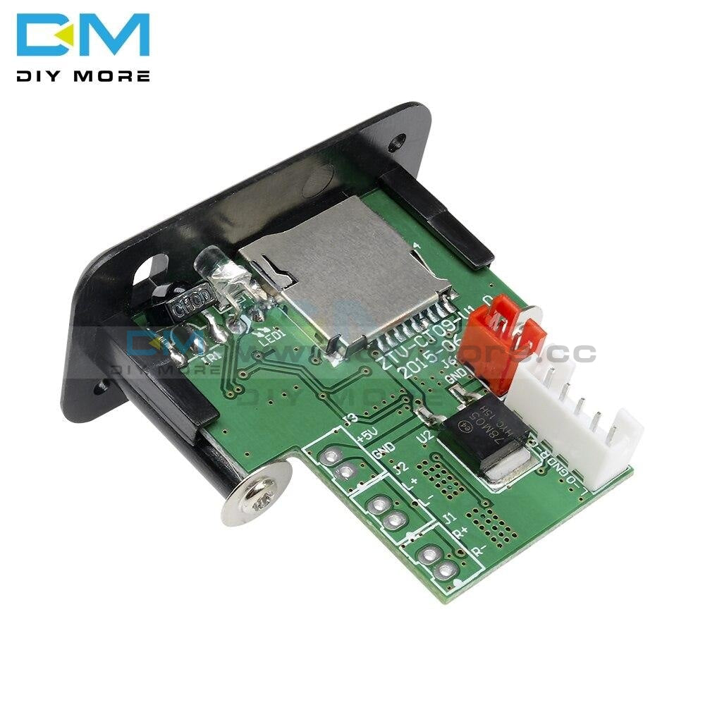 5V 7-12V Mini Mp3 Player Module With Usb Tf Wav Lossless Decoding Diy Kit Electronic Pcb Board