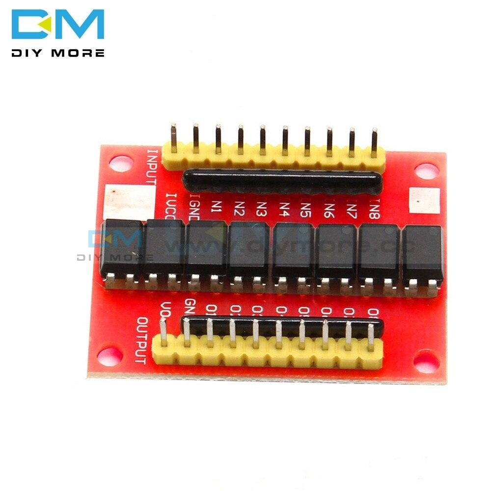 12V 8Ch 8 Ch Channel Optocoupler Isolation Board High Level Trigger Isolated Module Positive Phase