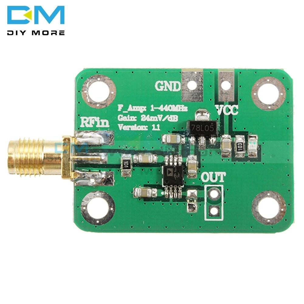 0.1-440 Mhz Ad8310 Rssi High Speed Frequency Rf Output Log Detector Power Meter Board Demodulator