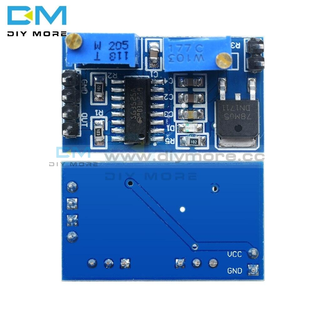 Dc 5V 12V Sg3525 Pwm Controller Module 100Hz-100Khz Adjustable Frequency Control Board Diy