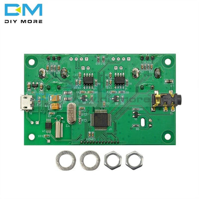 Dsp Pll Digital Stereo Fm Radio Receiver Module 87-108Mhz With Serial Control Frequency Range