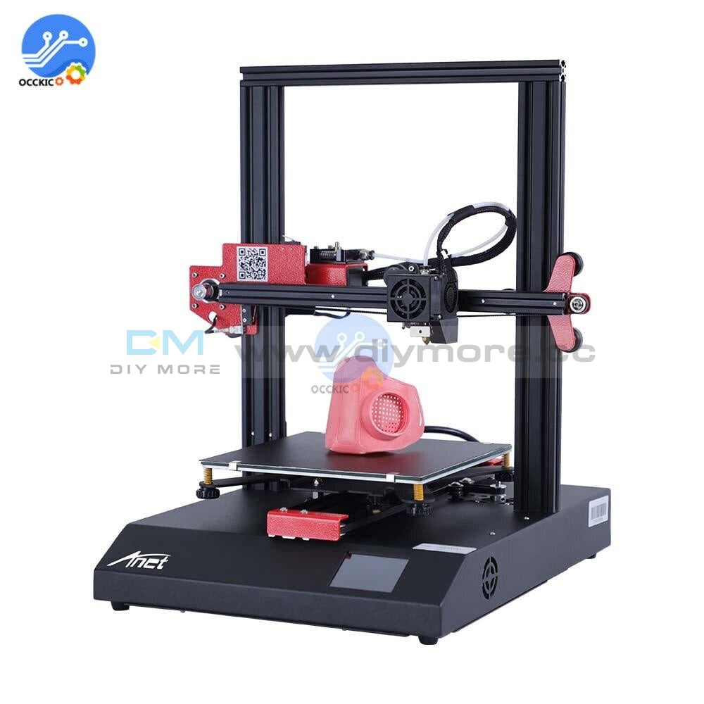 Original Anet Et4 3D Printer Ac110 220V 230V Aluminum Frame Touch Screen Support Offline Printing