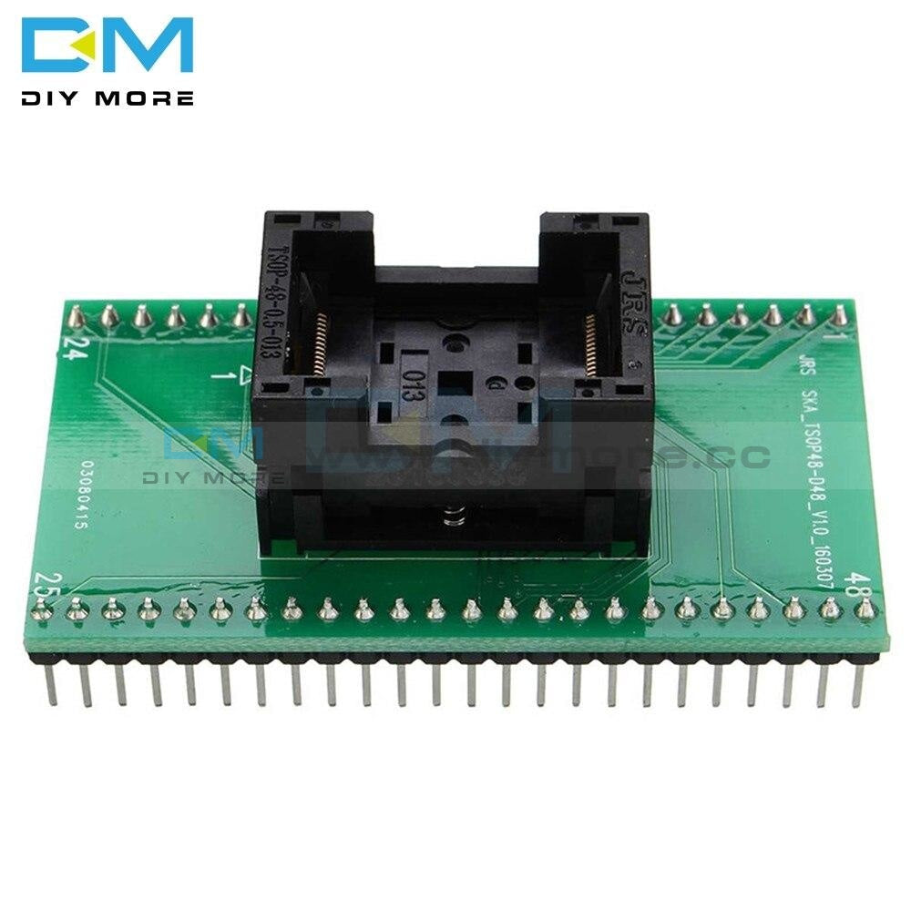 Tsop 48 Programmer Tsop48 To Dip48 Socket Adapter Module For Tnm 5000 Usb Rt 809F Diy Kit Board
