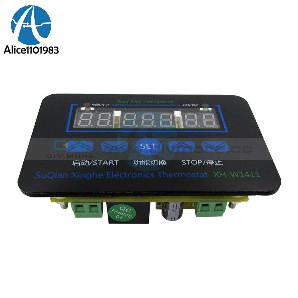 High Frequency W1411 Ac 220V Digital Lcd Temperaturregler Thermostat Schalter Control Controller