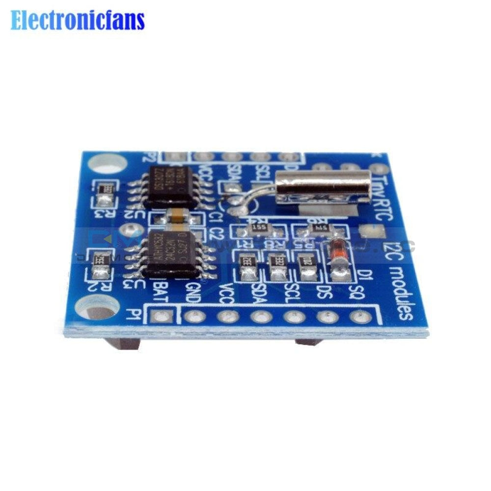 Iic/i2C Rtc Ds1307 At24C32 Real Time Clock Module For Arduino 51 Avr Arm Pic 2.9*2.6Cm Gps/gprs