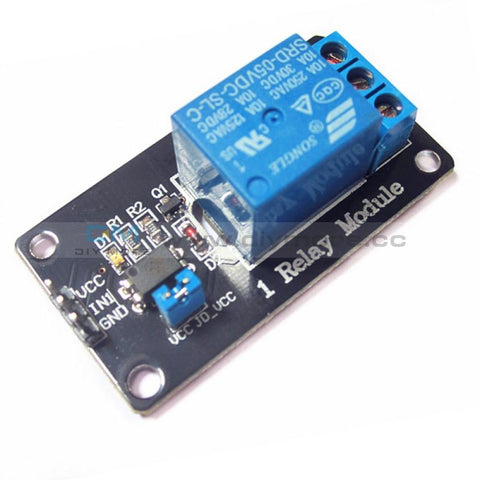 5V One 1 Channel Isolated Relay Module Coupling For Arduino Pic Avr Dsp Arm 1-Channel Delay