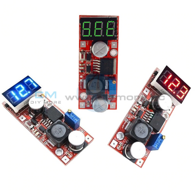 Lm2596 Dc Adjustable Buck Converter Voltage Regulator With Voltmeter 5V 12V 24V Step Down Module