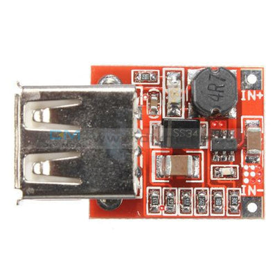 Dc-Dc Converter Step Up Boost Power Supply Module Adjustable 2.5-6V To 4-12V 1A Usb Charger Board