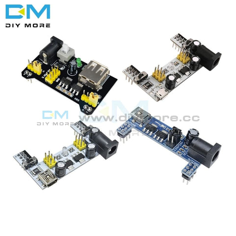 Mb 102 Mb102 Micro Mini Usb Solderless Breadboard Bread Borad Power Supply For Arduino Dc 3.3V 5V