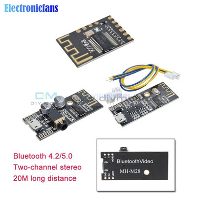 Mh Mx8 Wireless Bluetooth 4.2 Mp3 Audio Receiver Module Blt Lossless Decoder Board Kit Low