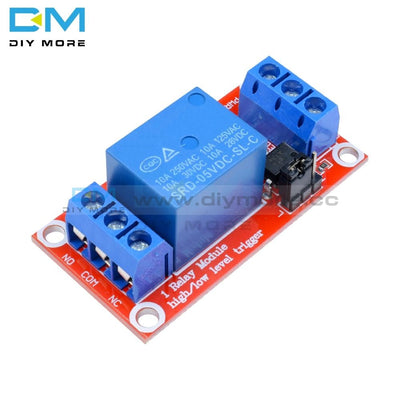 One 1 Channel 5V Relay Module Board Shield With Optocoupler Support High And Low Level Trigger Power