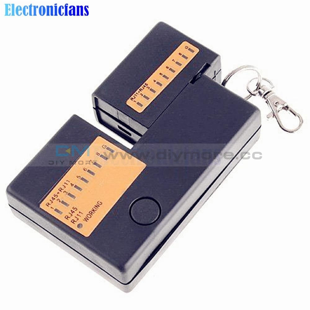 Portable Mini Network Cable Tester Tools Rj45 Rj11 Rj12 Lan With Key Chain Gps/gprs Module