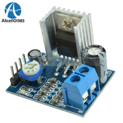 Power Supply Audio Amplifier Board Module Tda2030 Tda2030A 6 12V 18W Single Chip Light Diy Horn