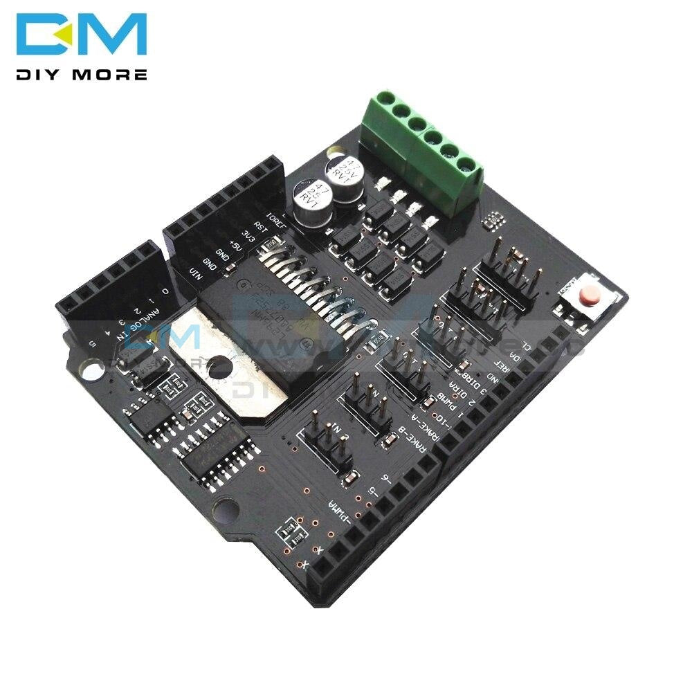 Arduino 40A H Bridge Dual Channel DC Motor Driver Shield Module L4098NH Than  L4098P