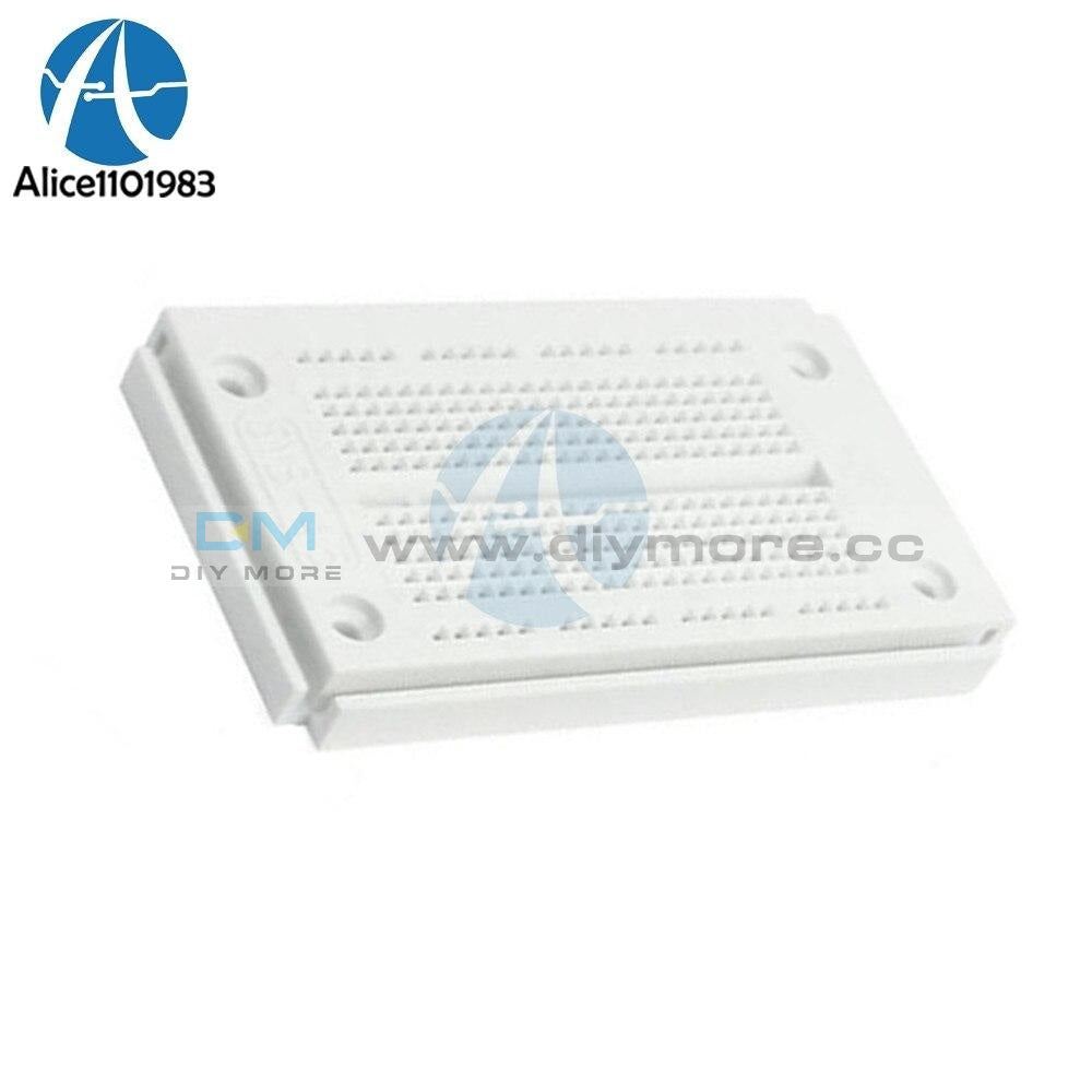 Syb 46 Breadboard 270 Point 23X12 Solderless Pcb Bread Board Test Borad Diy Integrated Circuits
