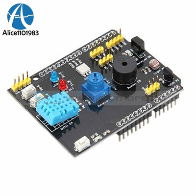Uno R3 Dht11 Lm35 Temperature Humidity Sensor Rgb Led Ir Receiver Multifunction Expansion Board