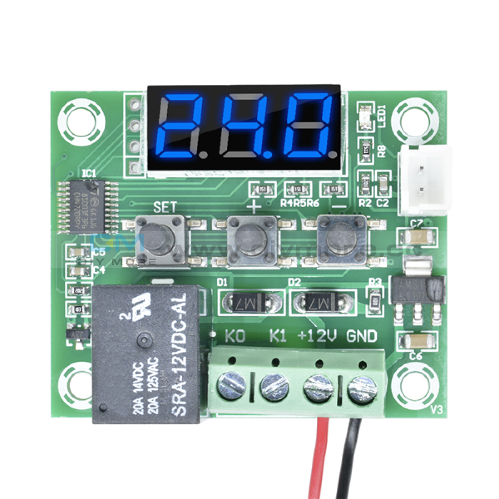 Stc-1000 Dc 12-72V Led Digital Temperature Controller Thermoregulator Thermostat Sensor Waterproof