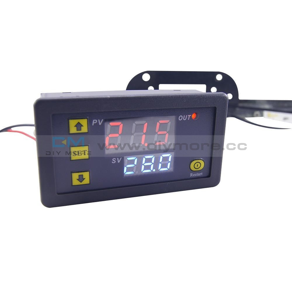 W3230 Lcd Ac 110-220V 10A Thermostat Temperature Controller Meter Regulator