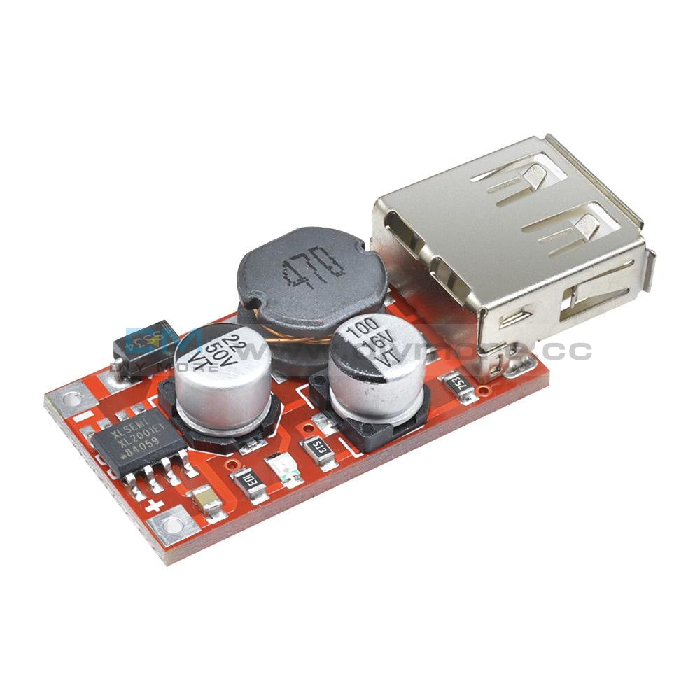 9V/12V/24V To 5V Dc-Dc Step Down Car Charging 3A Output Usb Module Diy Electronic Kit