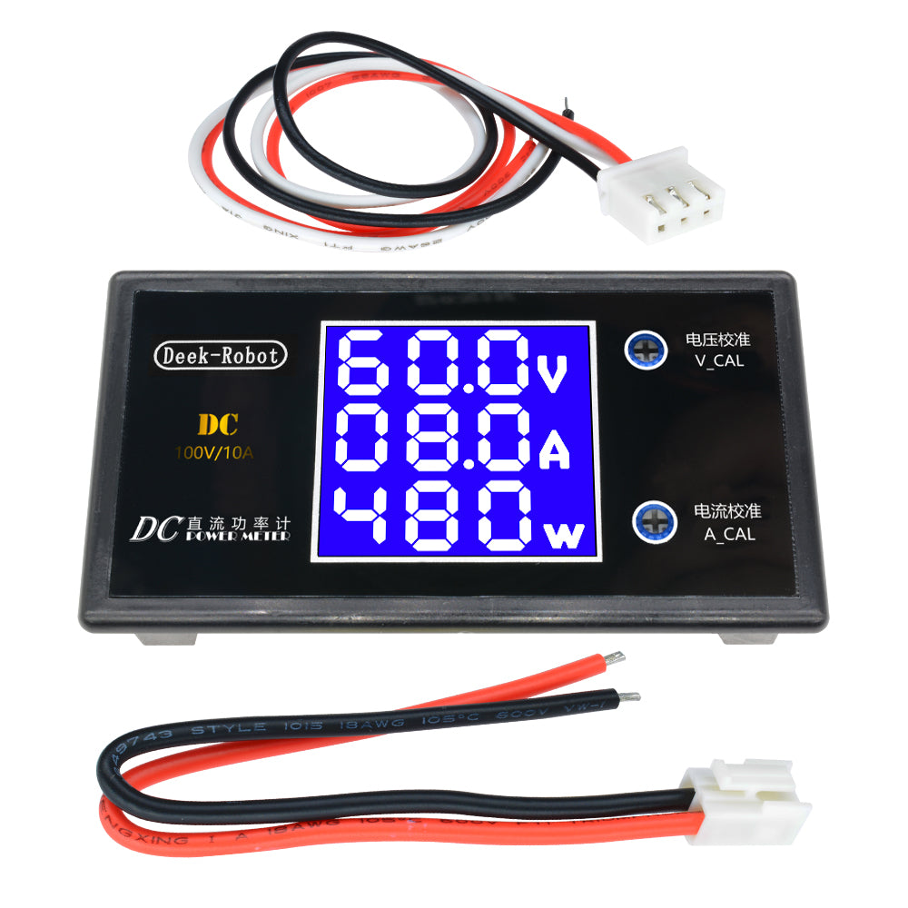 5A Step-Down Power Module 6V-32V To 1.25-32V Lcd Display No Case/with Case Step Down