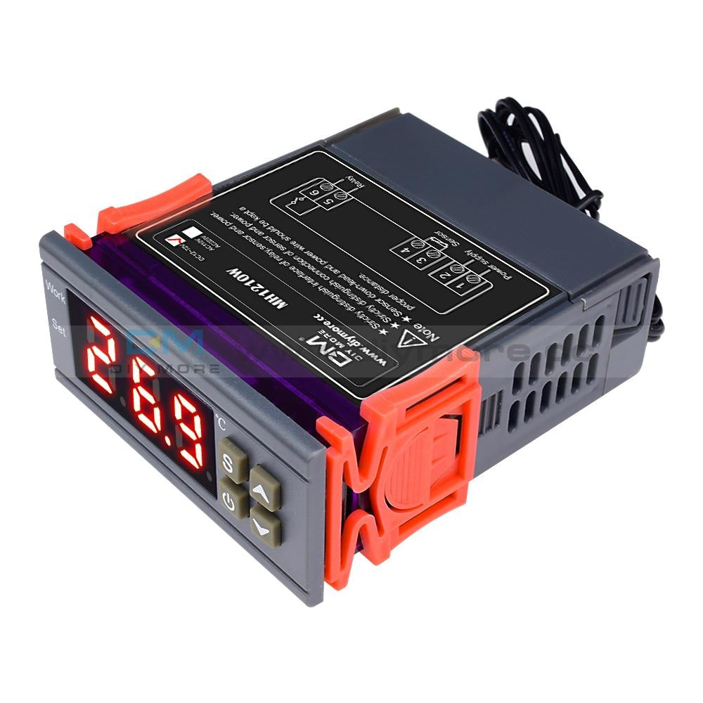 Digital Mh1210W Temperature Humidity Hygrometer Thermostat Controller 10A Sensor Dc 9-72V