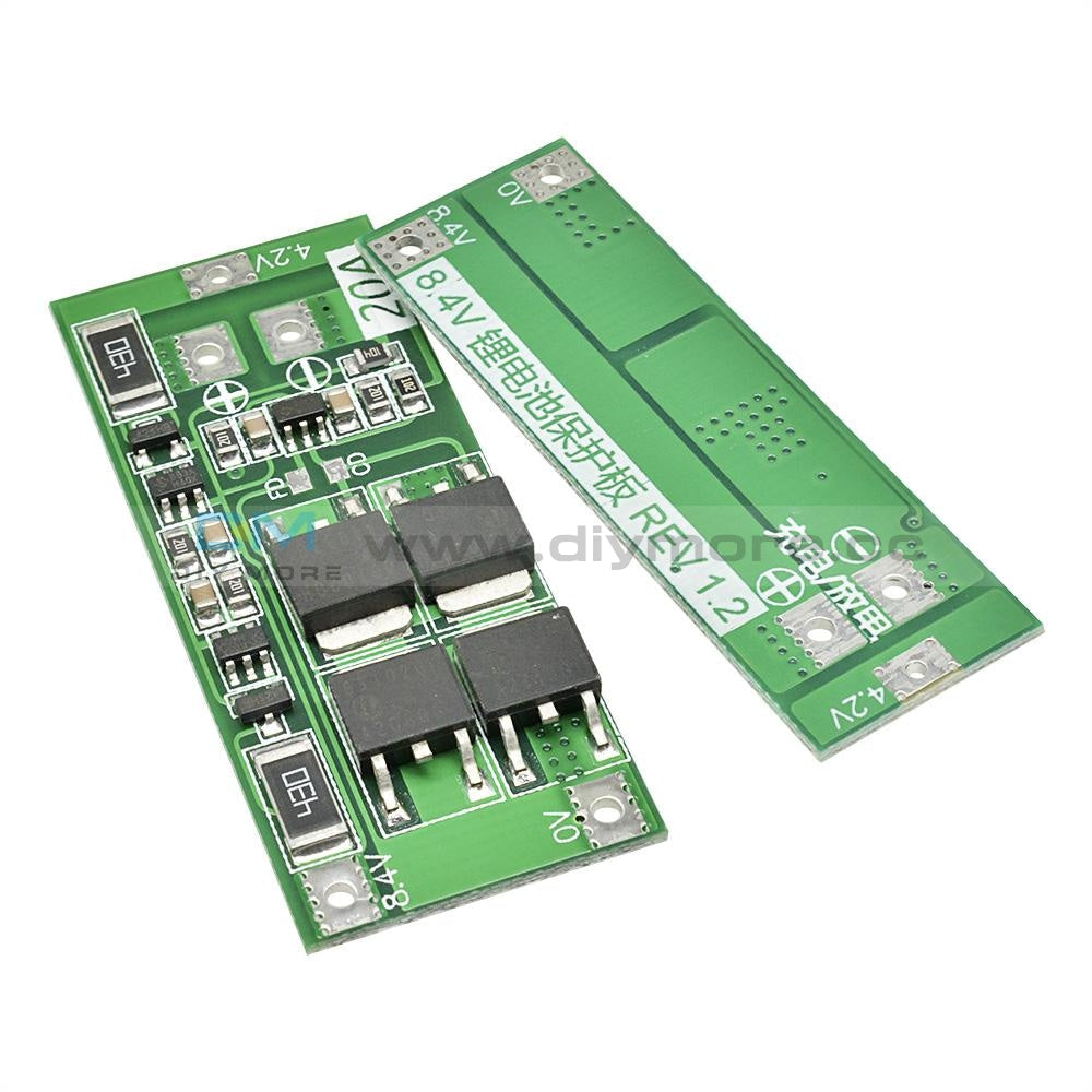 2S 10A 20A 7.4V 8.4V 18650 Polymer Lithium Battery Protection Bms Board Standard Balance Module Diy