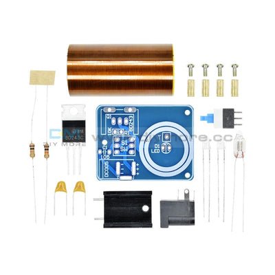 9-12V Bd243 Mini Tesla Coil Electronics Wireless Transmission Module Diy Kit Tools