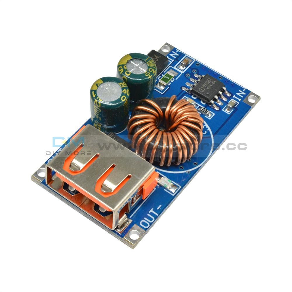 Dc6-32V Qc2.0 Qc3.0 Usb Fast Charging Buck Power Converter Step Down Module