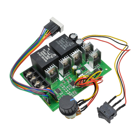 DC 10V-55V 40A PWM Speed Regulator  Motor Controller Function Switch Brush