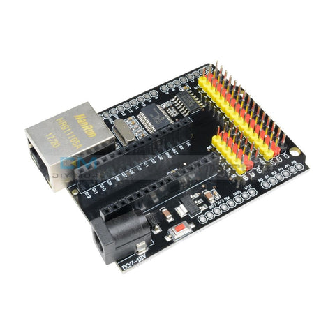 Enc28J60 Ethernet Network Module Shield V2.0 For Arduino Dm Strong Series