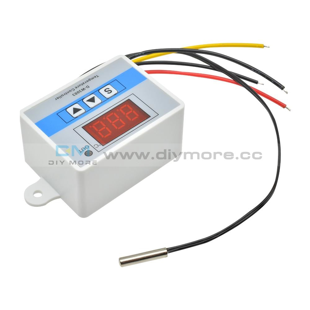 W3003 Dc 12V Led Digital Temperature Controller Thermostat For Incubator Box Thermoregulator Heating