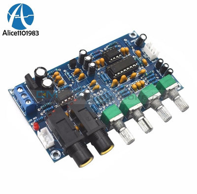 Xh M173 Microphone Amplifier Board Karaoke Reverberation Dual Double Power Ac 6V 20V 12V Transformer