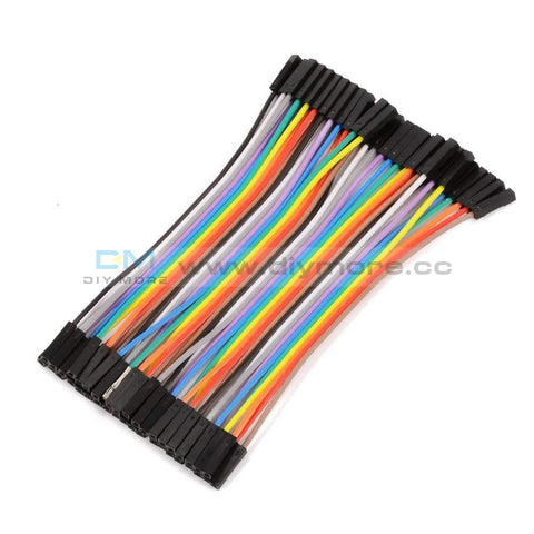10Cm 40Pin Male To Male/ M-F/f-F Wire Jumper Breadboard Multicolored Dupont Ribbon Cables Kit For