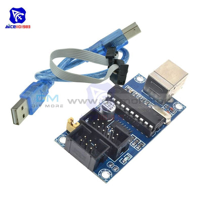 Diymore Usbtinyisp Usbtiny Avr Isp Programmer 6/10 Pin Bootloader For Arduino Meag2560 Uno R3 Tools