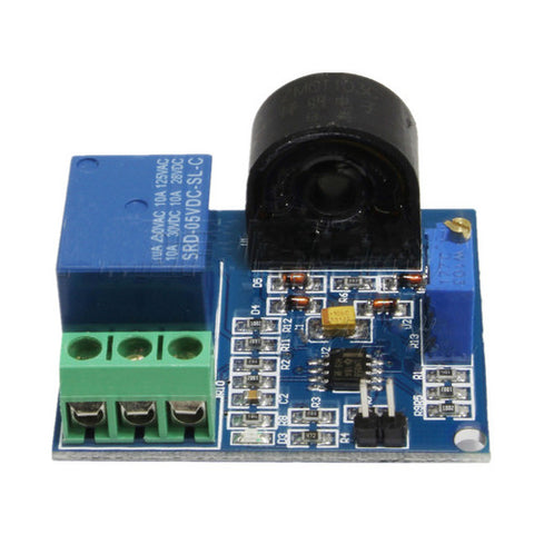 AC 5V 5A Overcurrent Flow Protection Module Current Detection Sensor Relay 20MA
