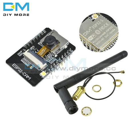 Ov2640 Esp32-Cam Bluetooth Module Camera Development Board Esp32 Ov7670 +2.4G Wireless Sma Antenna